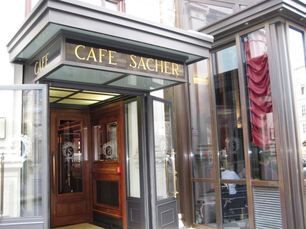 Кафе Захер в Вене, Австрия