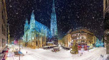 Погода в Вене в феврале